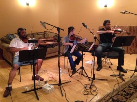 studio crash - strings II