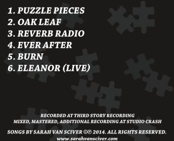 Puzzle Pieces back cover