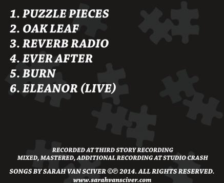 Puzzle Pieces back cover
