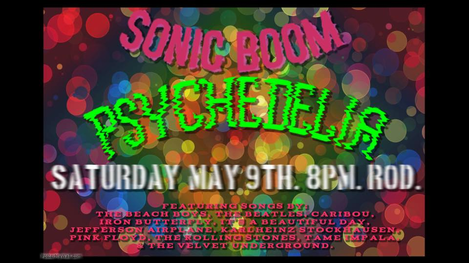 Sonic Boom presents PSYCHEDELIA